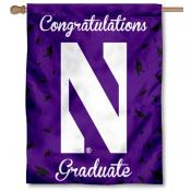 Northwestern Wildcats Graduation Banner