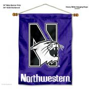 Northwestern Wildcats Wall Hanging