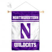 Northwestern Wildcats Window Hanging Banner with Suction Cup