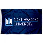 Northwood Timberwolves Academic Logo Flag