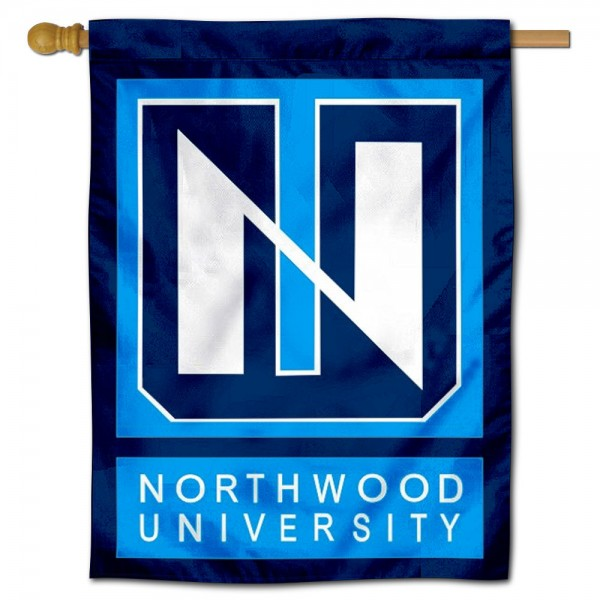 Northwood Timberwolves House Flag