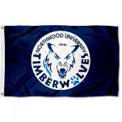 Northwood Timberwolves Logo Flag