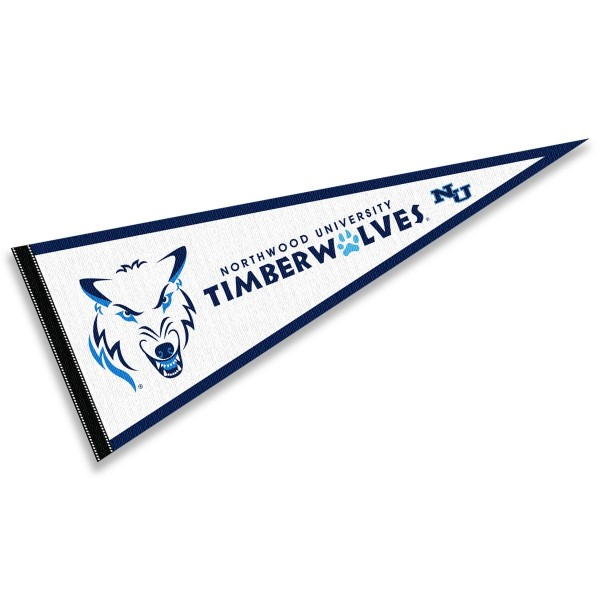 Northwood Timberwolves Pennant