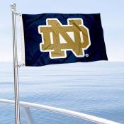 Notre Dame Boat Flag