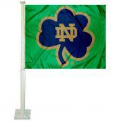 Notre Dame Car Flag