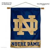 Notre Dame Fighting Irish ND Wall Hanging