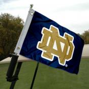 Notre Dame Golf Cart Flag