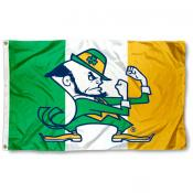 Notre Dame Irish Ireland Flag