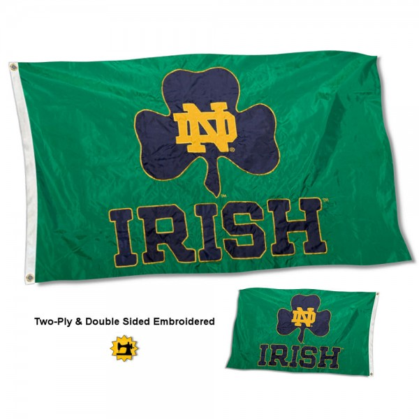 Notre Dame Stadium Flag - Irish