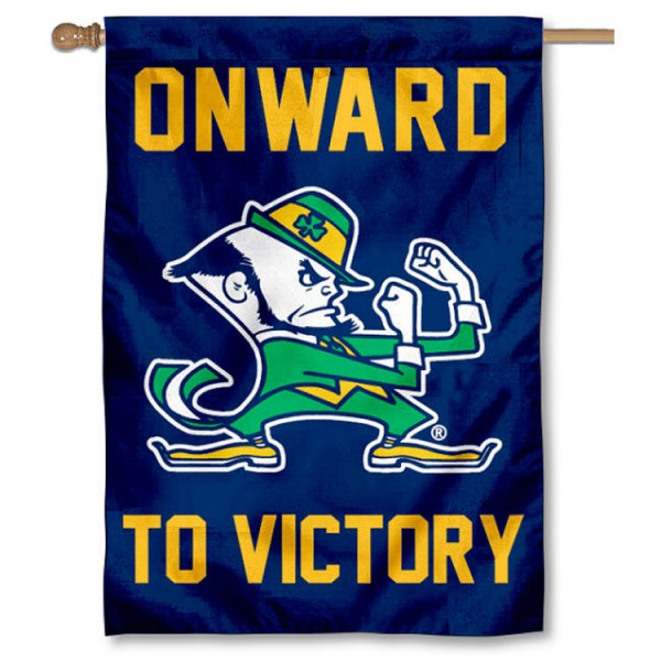 Notre Dame Victory March House Flag