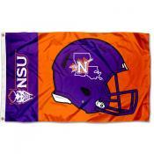 NSU Demons Helmet Flag