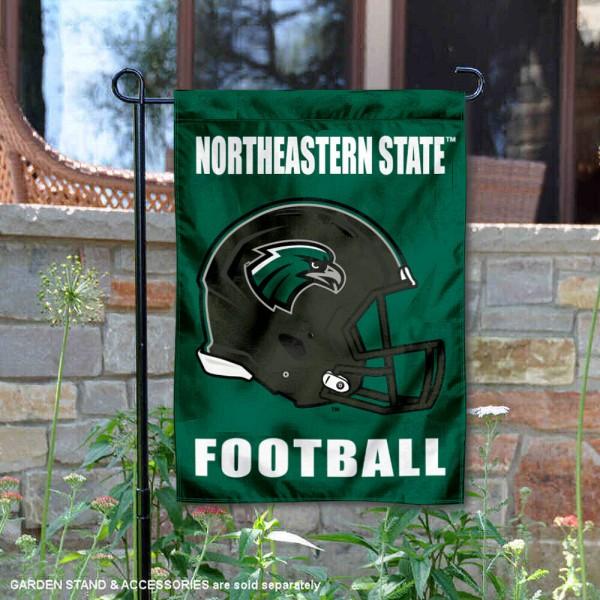 NSU Riverhawks Football Garden Flag