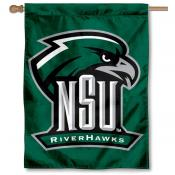 NSU Riverhawks House Flag