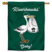 NSU Riverhawks New Baby Banner