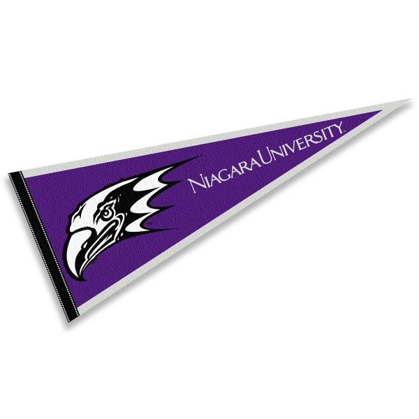 NU Purple Eagles Pennant