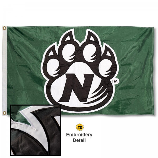 NWMSU Bearcats Appliqued Nylon Flag