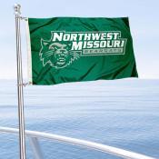 NWMSU Bearcats Boat Nautical Flag