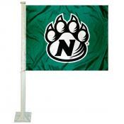 NWMSU Bearcats Logo Car Flag