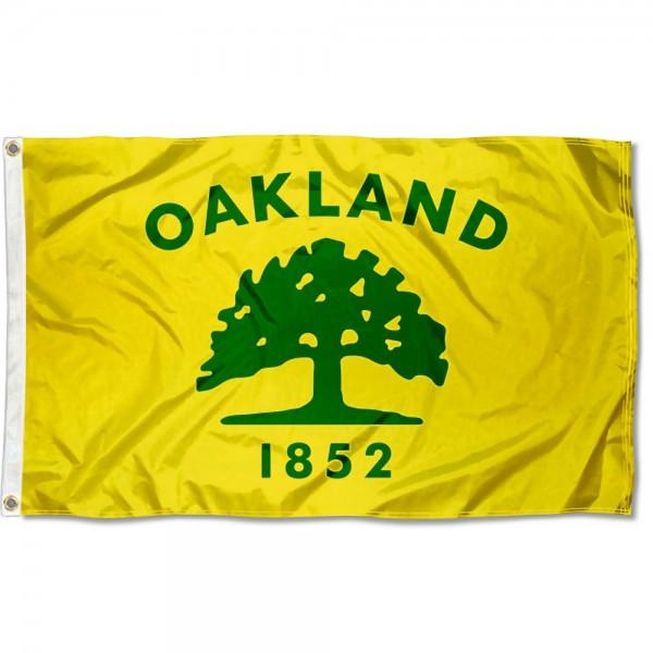 Oakland City 3x5 Foot Flag