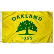 Oakland City 3x5 Foot Flag