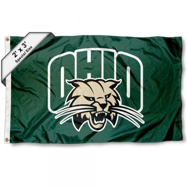 Ohio Bobcats 2x3 Flag
