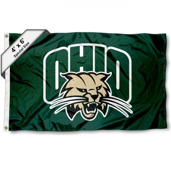 Ohio Bobcats 4'x6' Flag
