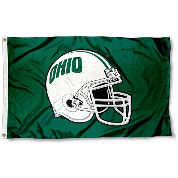 Ohio Bobcats Football Flag