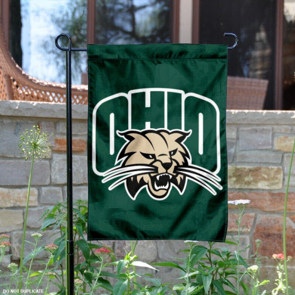 Ohio Bobcats Garden Flag