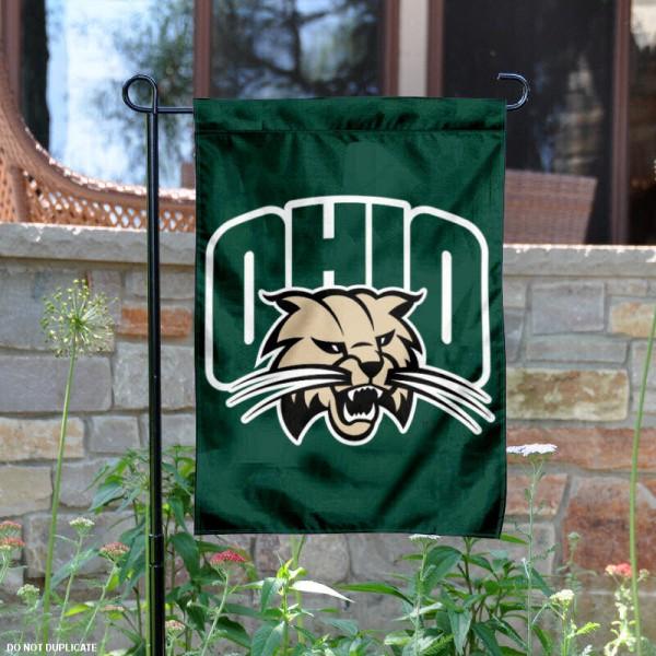 Ohio Bobcats Garden Flag