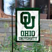 Ohio Bobcats OU Logo Garden Banner