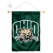Ohio Bobcats Small Wall and Window Banner