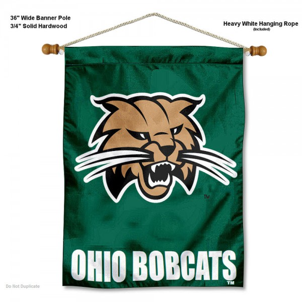 Ohio Bobcats Wall Hanging