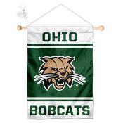 Ohio Bobcats Window Hanging Banner with Suction Cup