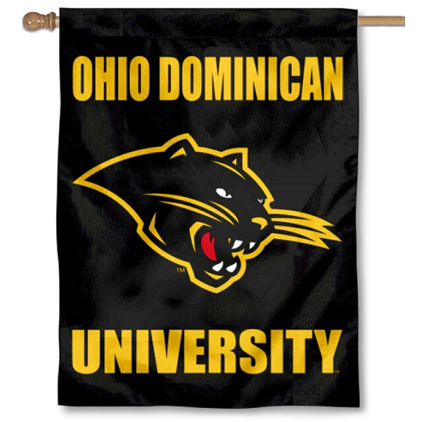 Ohio Dominican University Logo House Flag
