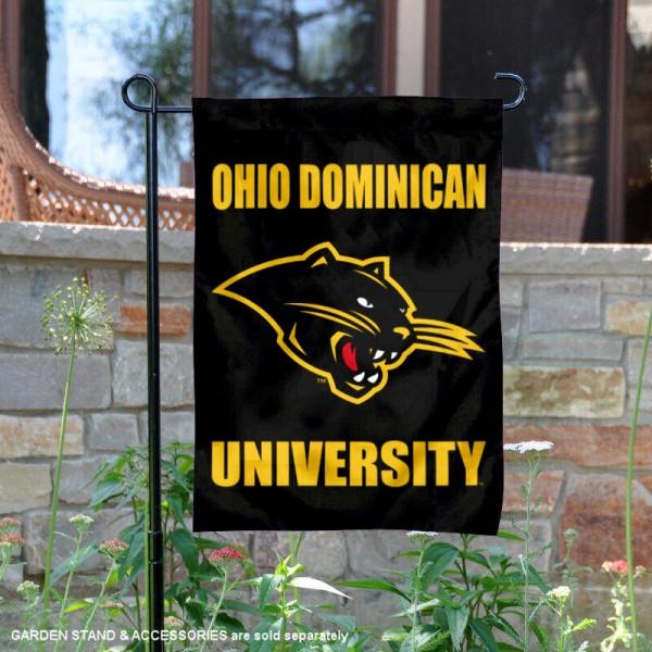 Ohio Dominican University Panthers Logo Garden Banner