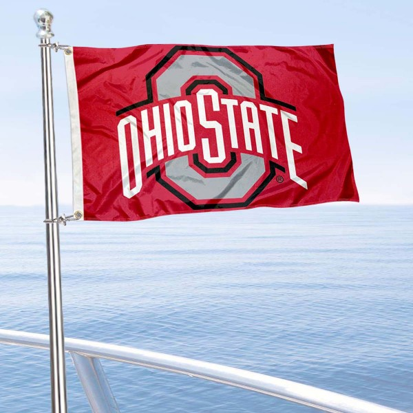 Ohio State Boat Flag