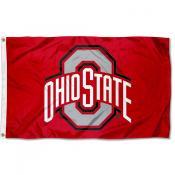 Ohio State Buckeyes 3x5 Grommet Flag