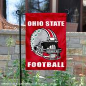 Ohio State Buckeyes Football Garden Flag
