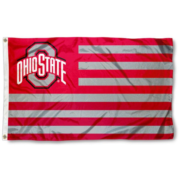 Ohio State Buckeyes Nation Flag