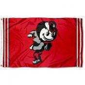 Ohio State Buckeyes Retro Vintage 3x5 Feet Banner Flag