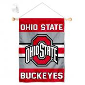 Ohio State Buckeyes Window Hanging Banner with Suction Cup