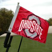 Ohio State Golf Cart Flag
