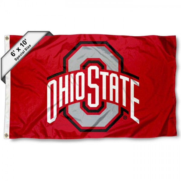 Ohio State University 6x10 Large Flag