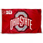 Ohio State University Big Ten Flag
