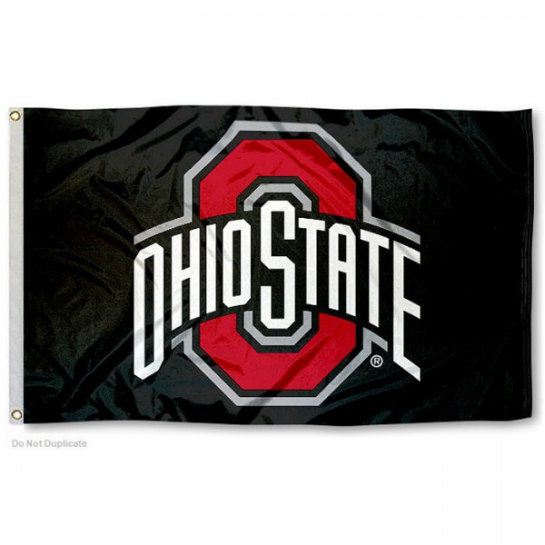 Ohio State University Black Flag