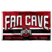 Ohio State University Buckeyes Man Cave Dorm Room 3x5 Banner Flag