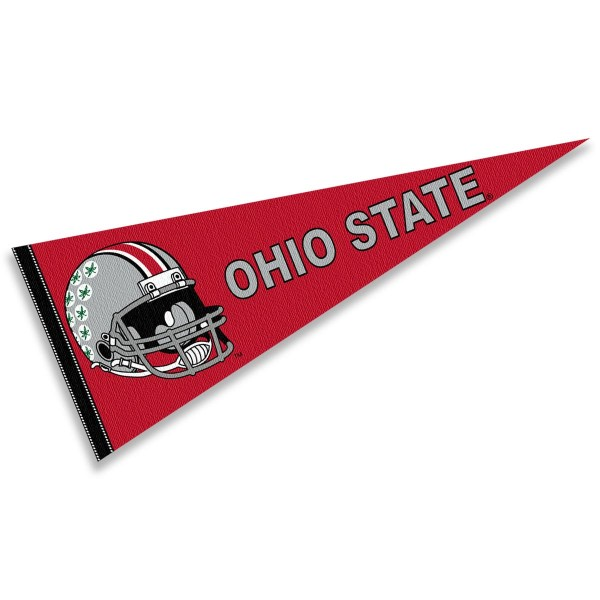Ohio State University Football Helmet Pennant