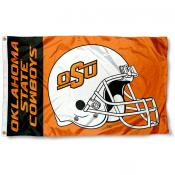 OK State Cowboys Football Flag