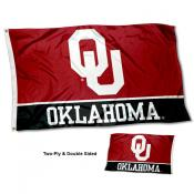 Oklahoma OU Sooners Two-Sided 3x5 Foot Flag