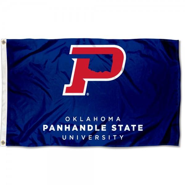 Oklahoma Panhandle State Aggies Logo Flag
